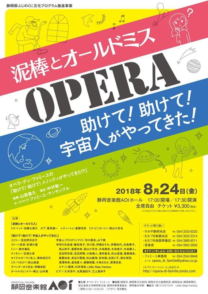 メノッティ作曲のオペラ出演